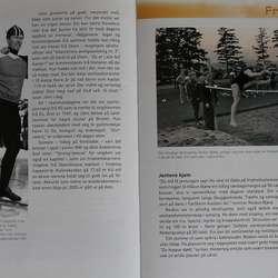 John er omtalt på 1,5 side i jubileumsboka til Os Turn.