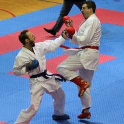 Fredrik Valo (t.v.) var nær på å slå Erol Abdicevic. (Foto: KVB)