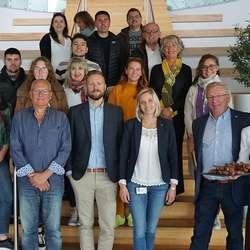 I september 2018 hadde Os og Bjørnafjorden Matkultur besøk frå 13 representantar for UNESCO City of Gastronomy. Silja DøsenMoberg førebudde maten. (Foto: KOG)