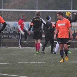 Stian Lunde skåra kampens einaste mål då Ståle slo FIFA 1-0. (Foto: KVB)