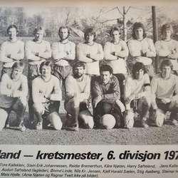 Tøffe ballgutar i 1976. (Foto: KOG)
