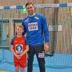 Tøffe karar! Mathias og Harald etter ei kjekk treningsøkt saman. (Foto: KOG)