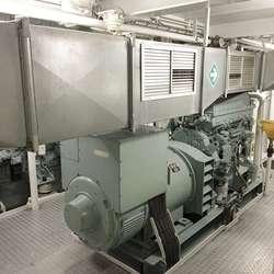 Hjelpemotoren. (Foto: KVB)