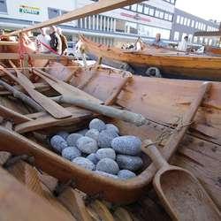Halsnøybåten. (Foto: Kjetil Vasby Bruarøy)