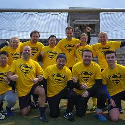 Superlaget vann i fjor - i år blei det 2. plass i mixklassen. (Foto: KVB)