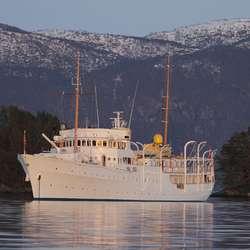 Kongeskipet KS «Norge». (Foto: Kjetil Vasby Bruarøy)