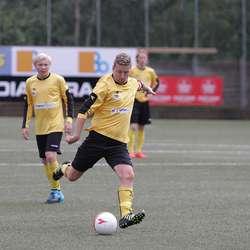 Mats Lepsøe prøvde seg før pause, men skåra først i 80. minutt. (Foto: KVB)