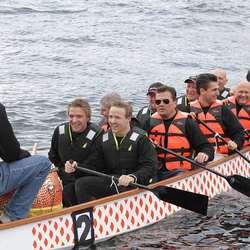 Johs Sælen i første heat. (Foto: KVB)