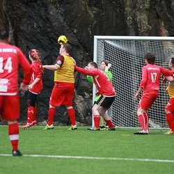 Søre Neset - Brann 4-4. (Foto: Kjetil Vasby Bruarøy)