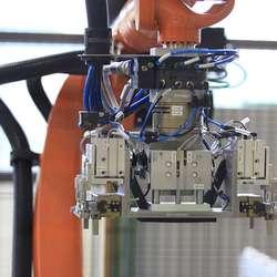 13 robotar skal stå for mesteparten av produksjonen. (Foto: KVB)