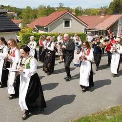 Os Musikkforening. (Foto: Anders Fløysand)