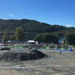 Os Triathlon har hatt fint vêr kvart år - i ni år! (Foto: KVB)