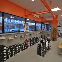Den nye butikken vert ein outlet.  (Foto: KOG)