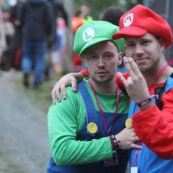 Super Mario og Luigi var ikkje i form til å hoppa så mykje i går. (Foto: KVB)