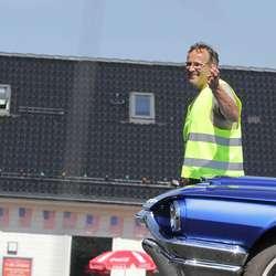 Dag Andersen styrte paraden med stødig hand. (Foto: KVB)