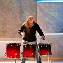 Trommesolo av Magne Johan Lunde. (Foto: Andris Hamre)
