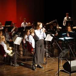 Os skulekorps, jubileumskonsert i Oseana, 10. november 2019. (Foto: LMG)