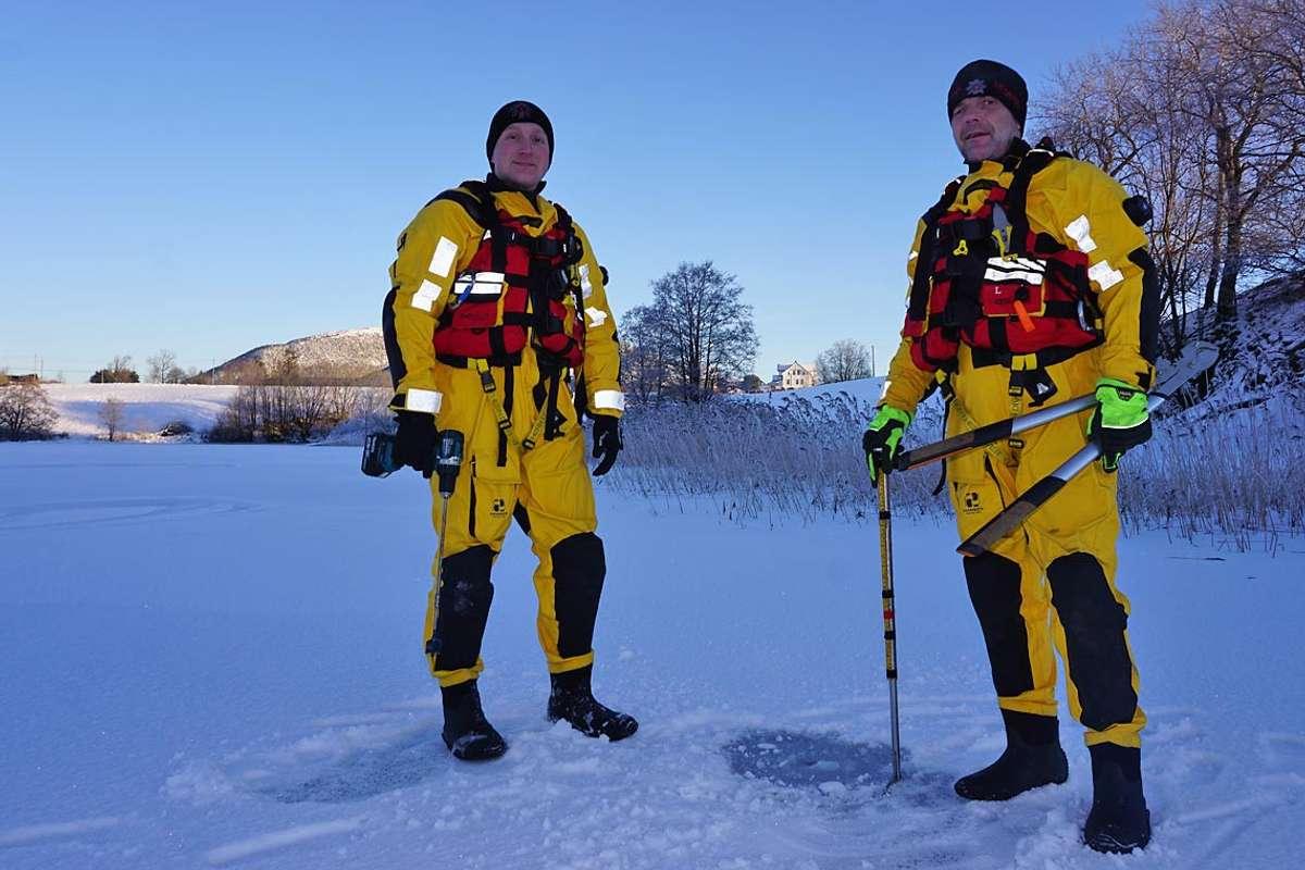 Ny måling i dag: Isen er farbar på 4 av 5 vatn