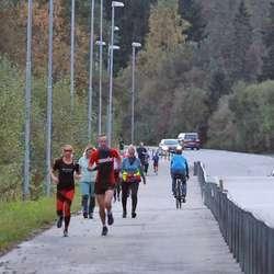 Over Ulvensletta, rundt Røde Kors og tilbake, i alt 5 km. (Foto: KVB)