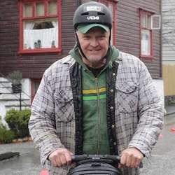 – Dette var kjekt, eg er glad eg prøvde, seier Harald. (Foto: Kjetil Vasby Bruarøy)