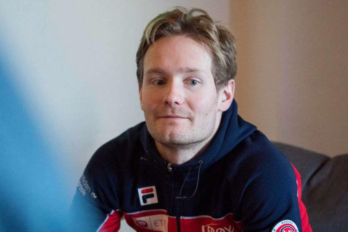 Sverre er ikkje i storslag, men stiller til verdscup med nye skøyter i morgon. (Bilde frå 2020, foto: Kristian Vårvik)