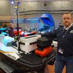 Stig Hatlestad med SeaDoo Fish Pro. (Foto: KVB)