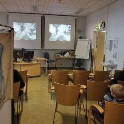 Film frå tuberkulose-tida. (Foto: KVB)