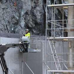 Helgesen Tekniske Bygg står for arbeidet. (Foto: KVB)