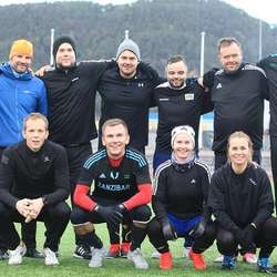 Sterk debut: Rådhuset FC. (Foto: KVB)