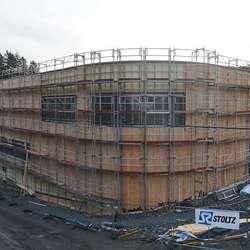 Bygget i dag. (Foto: KVB)