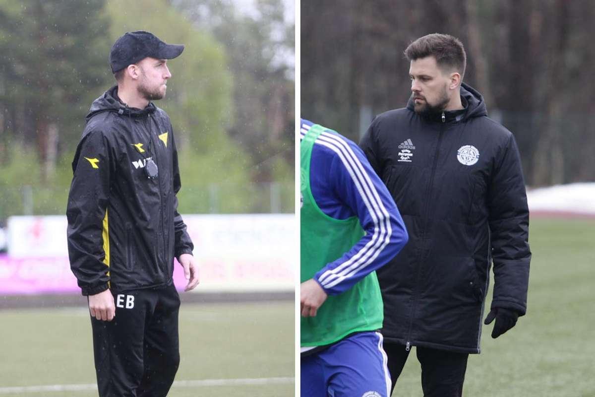 Endre Brenne og Rubent Hetlevik synest forbund og foreining kunne informert betre i ventetida inn mot 2021-sesongen. (Foto: KVB)