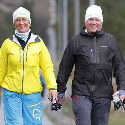 Marianne Søvik og Odd Sande. (Foto: CFB)
