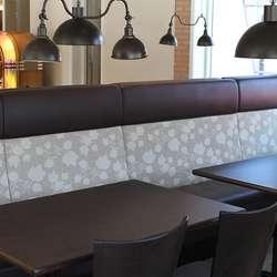 Restauranten er på 135 kvadratmeter. (Foto: KVB)