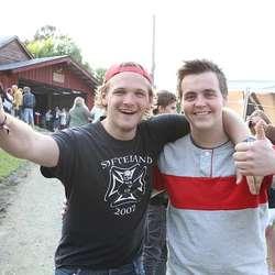 Marcus Dalland og Frank Olav Røttingen i storslag. (Foto: KVB)