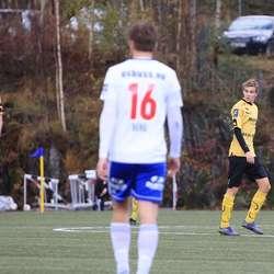 Tobias B. Nøss (t.h.) debuterte for Os. (Foto: KVB)