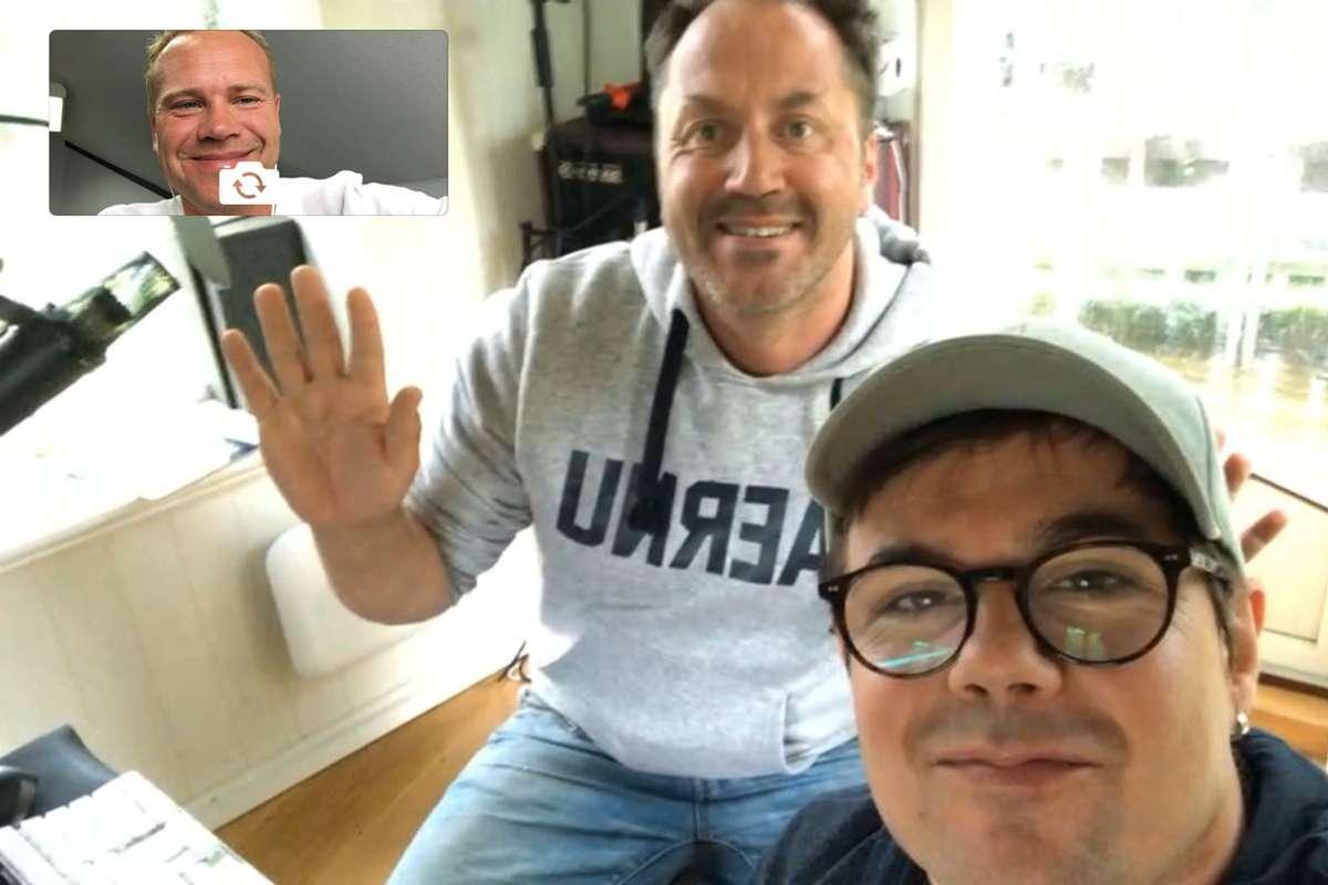 Midtsiden fekk intervju med Glenn Lyse og Ole Alexander Mæland via FaceTime i dag.