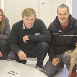 Tine Johnsen, Rune Fjellanger og Jonas Riise Johansen. (Foto: Kjetil Vasby Bruarøy)