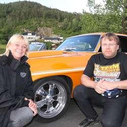 Linda og Frank ser fram til konkurransen i burning. (Foto: KVB)