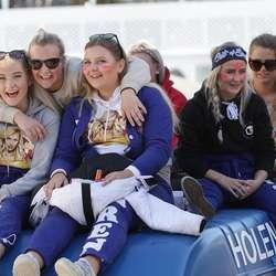Russen frå Os vgs og Os Gymnas. (Foto: KVB)