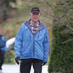 Ottar Skarstein har gått alle 39 marsjane. (Foto: Christina Forstrønen Bruarøy)