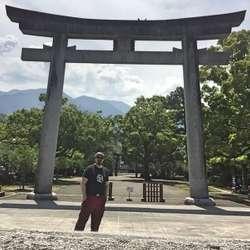 Halgeir Våge i Japan.