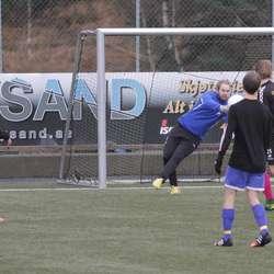 Matchvinnande redning av Lindborg, igjen. (Foto: KVB)