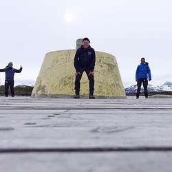 Gutane er no ferdige med Nordkalotten.