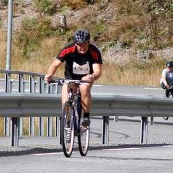 Det gjekk på ein litt annan type sykkel den gang då.... (foto: Andris Hamre)