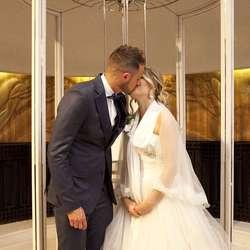 Frå bryllaupet til Vlatka og Denis. (Privat foto)