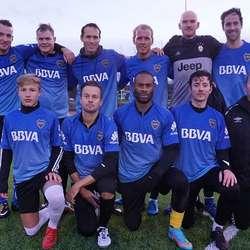 2. plass i herrar elite: Boca Juniors.