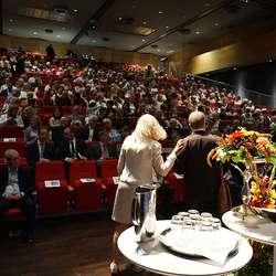 Full sal på seminar. (Foto: KVB)
