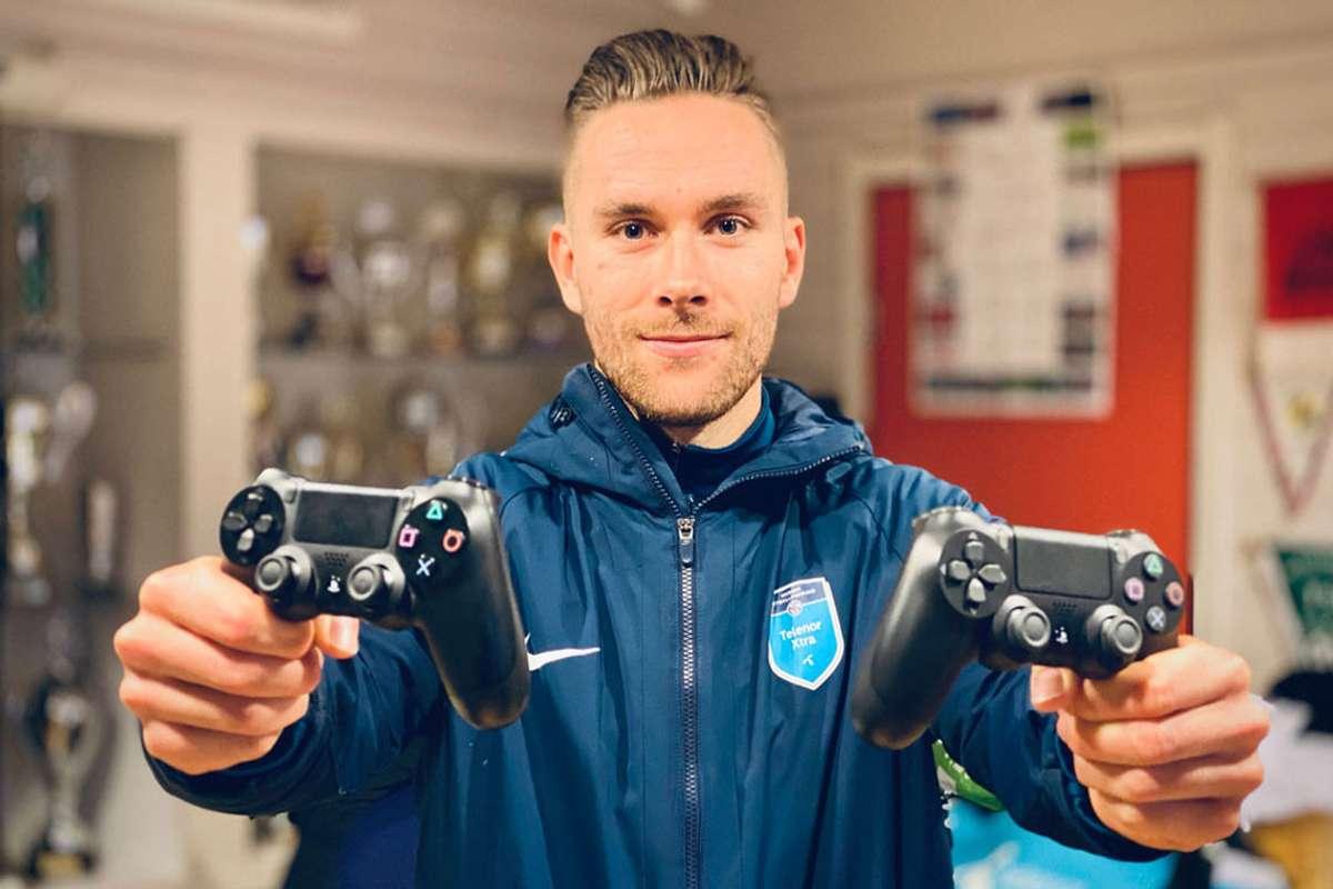 Rune Mo i Os Fotball gler seg over den nye satsinga til klubben. (Foto: Ørjan Håland)
