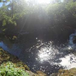 Sone 2, ein av favorittplassane, spesielt når elva er låg. (Foto: KVB)
