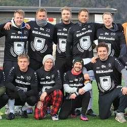 Tok seg til semifinale: Øl og Kondis. (Foto: KVB)